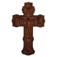 Крест настенный с распятием и херувимом
