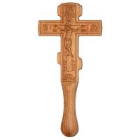 Крест постригальный с распятием