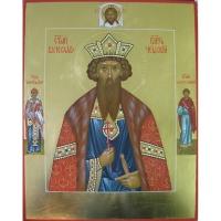 Икона св. Вячеслав Чешский