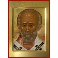 Икона св. Николай (поясной)