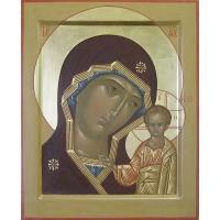 Икона Богоматери Казанская