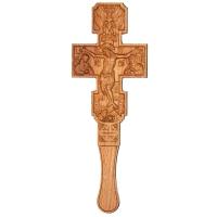 Крест постригальный с ангелами