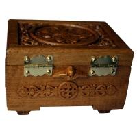 Мощевик келейный с ковчегом для иконы
