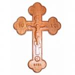 Крест настенный с распятием закругленный